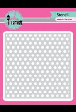 pink & main Dotty Stencil