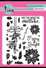 pink & main Mistletoe Stamp