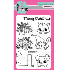 pink & main Stocking Stuffers Stamp