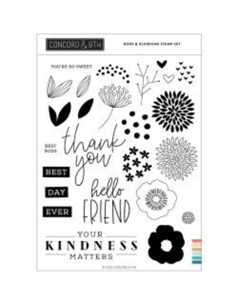 concord & 9th Buds & Blossoms Stamp Set