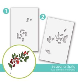 Taylored expressions Mini Seasonal Spring Slim Stencil