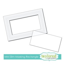 Taylored expressions Mini Slim Rectangle Masking Stencil