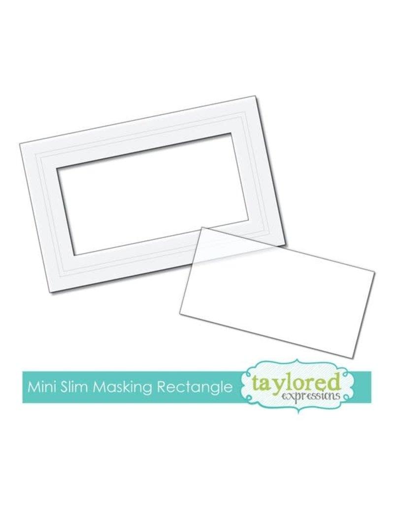 Taylored expressions Mini Slim Rectangle Masking Stencil