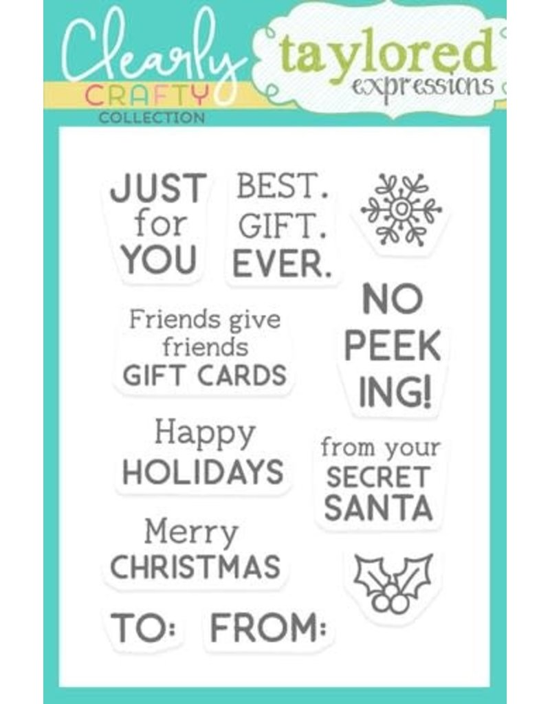 Taylored expressions PP Holiday Tags Stamp