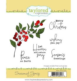 Taylored expressions Seasonal Sprig Stamp