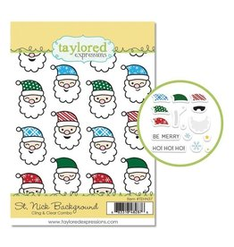 Taylored expressions St. Nick Background Combo Stamp