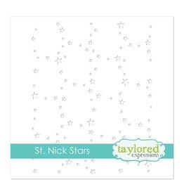 Taylored expressions St. Nick Stars Stencil