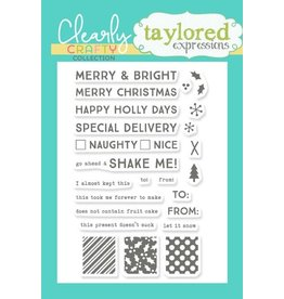 Taylored expressions Tag Team Xmas Stamp