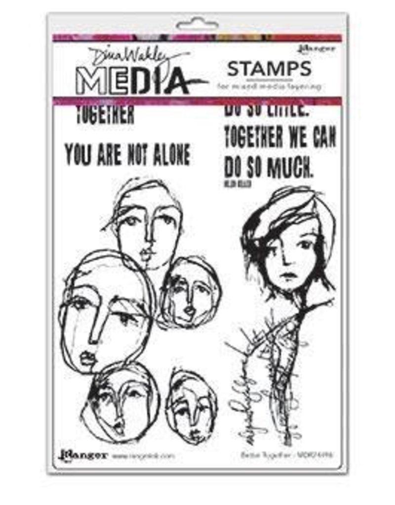 Dina Wakley Better Together Stamp