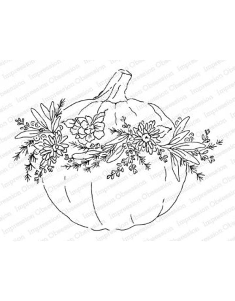 Impressn Obsessn Fall Pumpkin Stamp