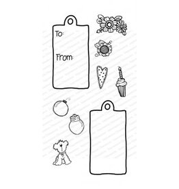 Impressn Obsessn Gift Tags Stamp