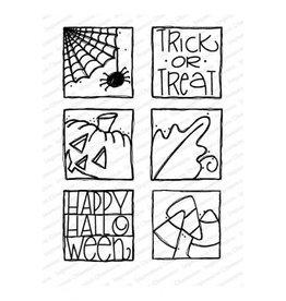 Impressn Obsessn Happy Halloween Stamp