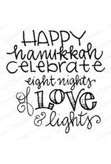 Impressn Obsessn Happy Hanukkah Stamp