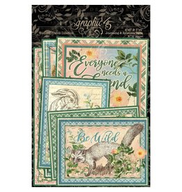 GRAPHIC 45 Woodland Friends Journaling Cards