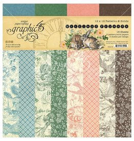 Graphic 51 Woodland Friends: 12x12 Solids