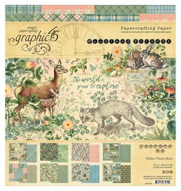 Graphic 48 Woodland Friends: 8x8 Pad