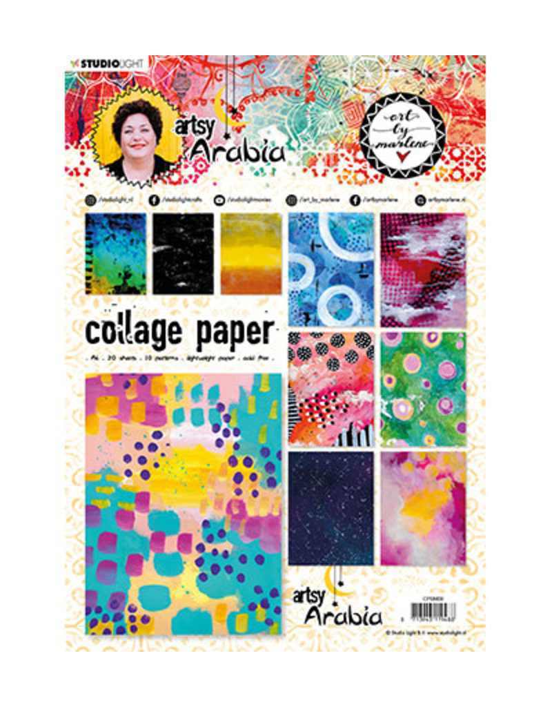 Art by Marlene Collage Paper