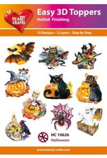 Hearty Crafts Halloween 3D Topper