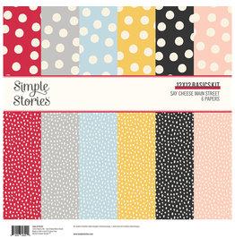 simple stories Say Cheese Main Street :  12x12 Basics Kit