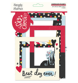 simple stories Say Cheese Main Street :  Chipboard Frames