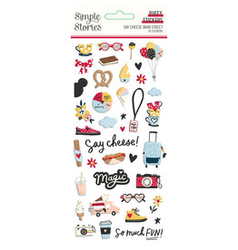 simple stories Say Cheese Main Street :  Puffy Stickers