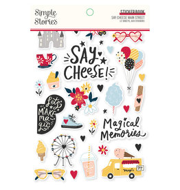 simple stories Say Cheese Main Street :  Sticker Book