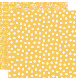 simple stories Say Cheese Main Street Paper:  Yellow Dots