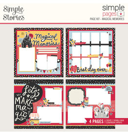 simple stories Simple Pages Page Kit :  Magical Memories