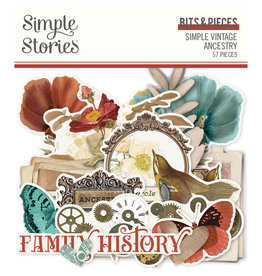 simple stories SV Ancestry :  Bits & Pieces