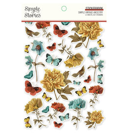 simple stories SV Ancestry :  Sticker Book