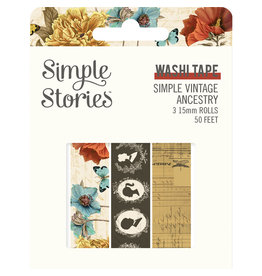 simple stories SV Ancestry :  Washi Tape