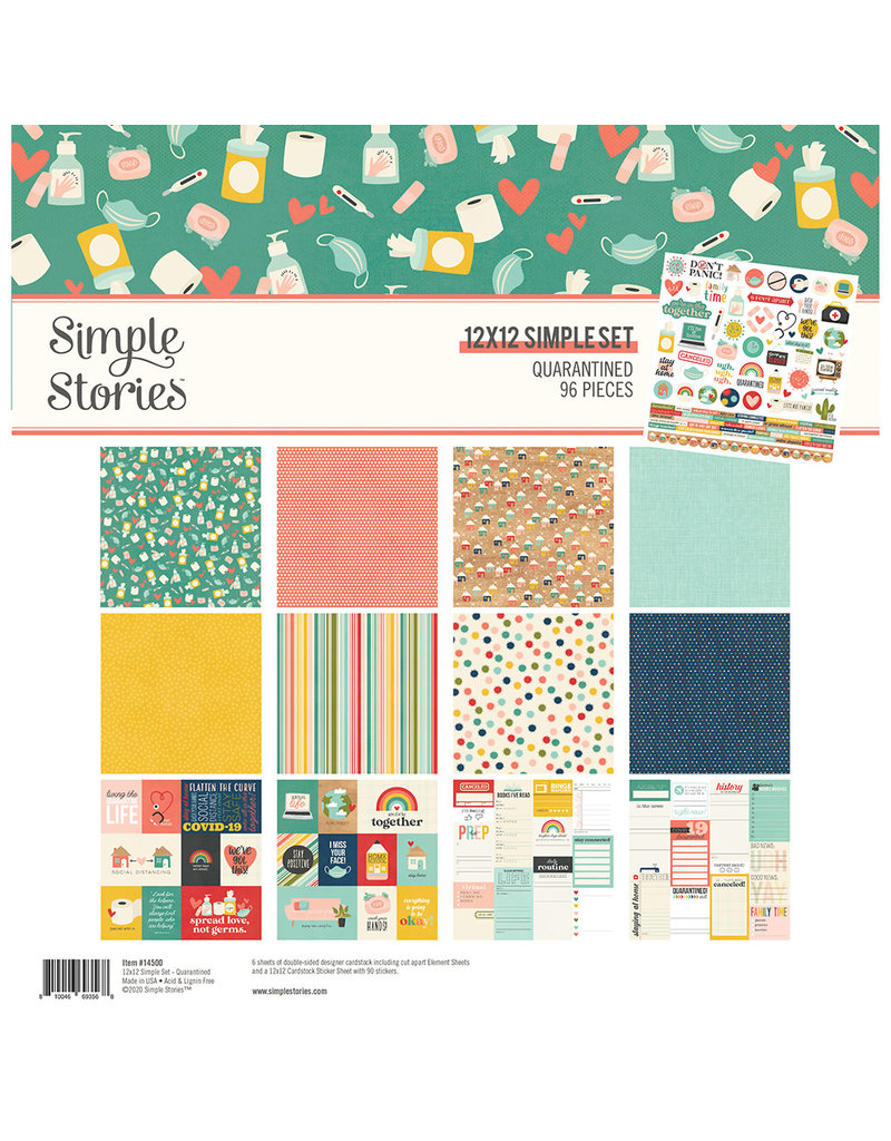 simple stories Quarantined:  Collection Kit