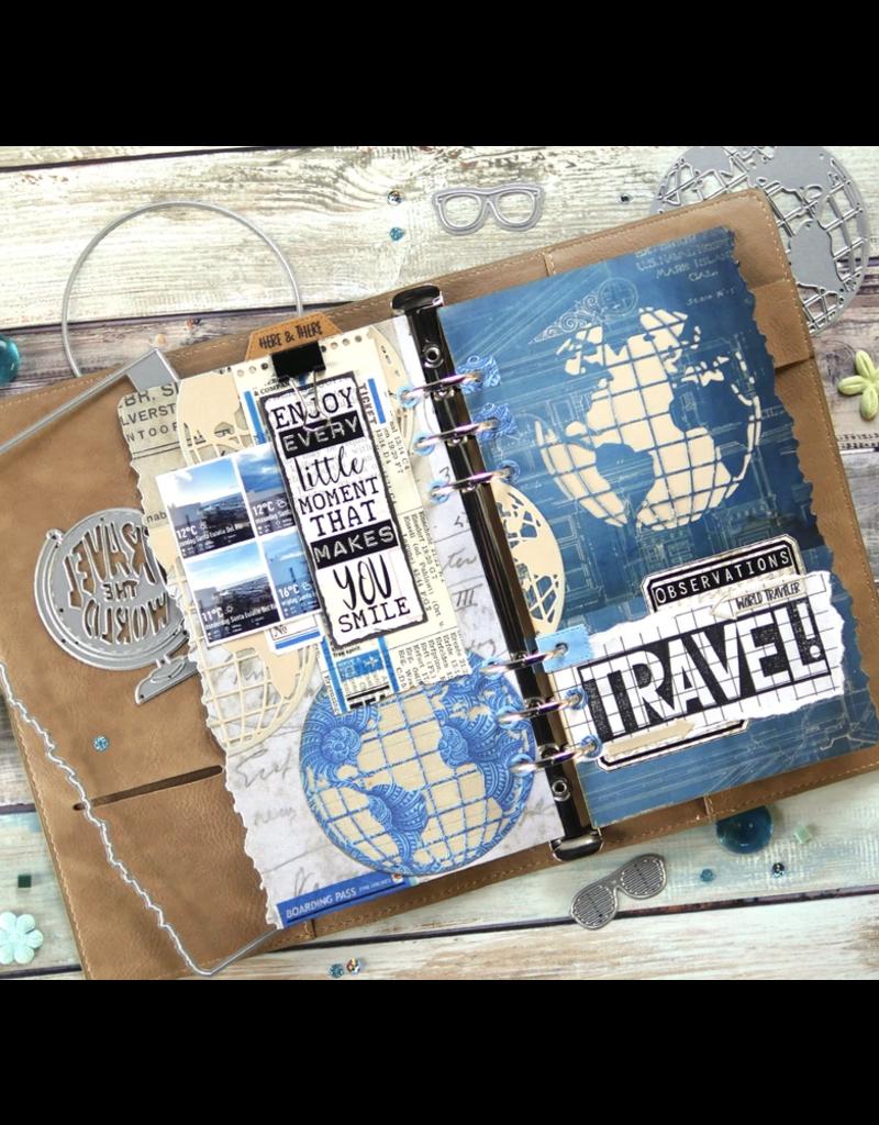 Elizabeth Crafts Planner Essentials 28 - Globe