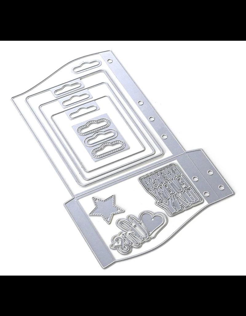 Elizabeth Crafts Planner Essentials 30 - Wave Pocket