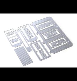 Elizabeth Crafts Planner Essentials 31 - Slider Pockets
