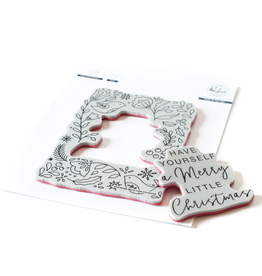pinkfresh studios Merry Little Christmas Stamp
