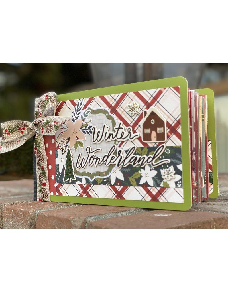 Nikki Sher 12/06 Winter Wonderland Flipbook Album by Nikki