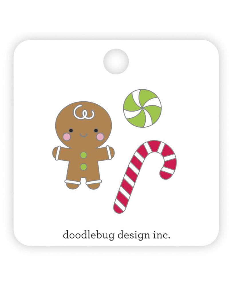 DOODLEBUG night before christmas sugarplums collectible pins