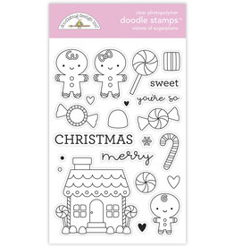 DOODLEBUG night before christmas visions of sugarplums doodle stamps