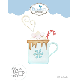 Elizabeth Crafts Hot Chocolate Die