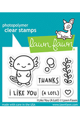lawn fawn i like you (a lotl) stamp