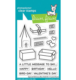 lawn fawn special delivery box add-on stamp
