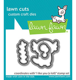 lawn fawn i like you (a lotl) die