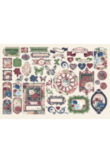 GRAPHIC 45 Blossom: Die cut assortment