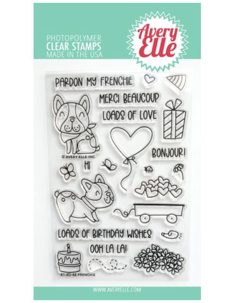 avery elle Frenchie Stamp