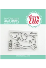 avery elle All My Kisses Stamp