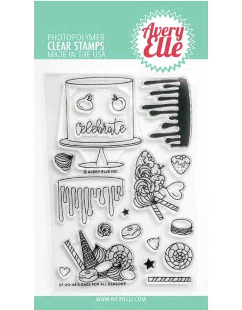 avery elle A Cake for All Seasons Stamp