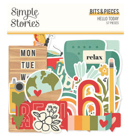 simple stories Hello Today :  Bits & Pieces