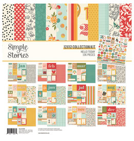 simple stories Hello Today :  Collection Kit