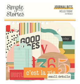 simple stories Hello Today :  Journal Bits